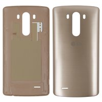 Battery Back Cover for LG G3 D855 Cell Phone, (golden)