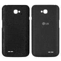 Battery Back Cover for LG D325 Optimus L70 Dual SIM Cell Phone, (grey)