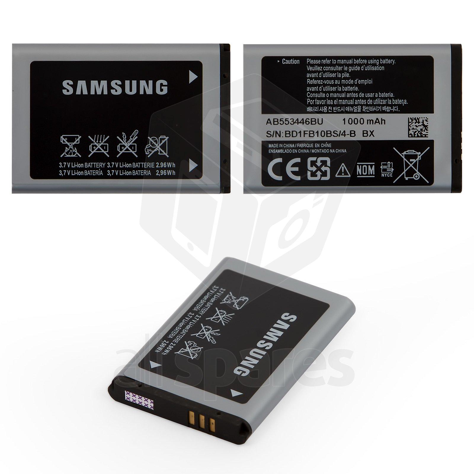 battery ab553446bu for samsung b100 b2100 c3212 c3300 c5130 rh all spares com Verizon Samsung Flip Phone Manual Samsung Galaxy S Manual
