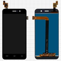LCD for Jiayu G5, G5S Cell Phones, (black, with touchscreen) #TFT5K0203FPC-A1-E