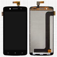 LCD for Prestigio MultiPhone 8500 Duo Cell Phone, (black, with touchscreen)