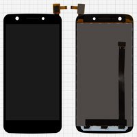 LCD for Prestigio MultiPhone 5508 Duo Cell Phone, (black, with touchscreen) #BLB-S90556-DI050FH-1/FPC-S80212-1 V02