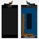 LCD for Lenovo P70 Cell Phone, (black, with touchscreen, High Copy)
