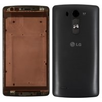 Housing for LG G3s D724 Cell Phone, (black)
