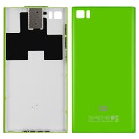 Battery Back Cover for Xiaomi Mi3 Cell Phone, (green)