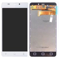LCD for BLU L220A Life Pure Mini, L220I Life Pure Mini Cell Phones, (white, with touchscreen)