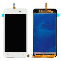 LCD for Vivo Y27 Cell Phone, (white, with touchscreen)
