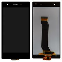 LCD for Sony C6916 Xperia Z1s Cell Phone, (black, with touchscreen)