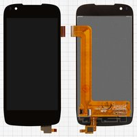 LCD for Fly IQ4405 Cell Phone, (black, with touchscreen) #15-22391-42501/Q700S PLUS-FPC
