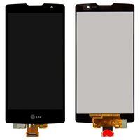 LCD for LG H422 Spirit Y70, H440, H442 Cell Phones, (black, with touchscreen)