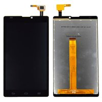 LCD for ZTE Blade L2 Cell Phone, (black, with touchscreen)