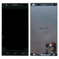LCD for ZTE Star 1 Cell Phone, (black, with touchscreen)
