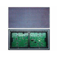 Outdoor LED Module P10-1G/1B/1Y (320 × 160 mm, 32 × 16 dots, IP65, 2000 nt)