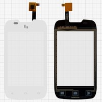 Touchscreen for Fly IQ431 Glory Cell Phone, (white)