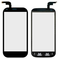 Touchscreen for ZTE Blade Q Maxi Cell Phone, (black)