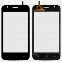 Touchscreen for Explay Atom Cell Phone, (black) #HQ-040-034