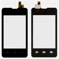 Touchscreen for Explay Solo Cell Phone, (black)