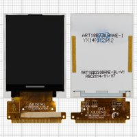 LCD for Fly DS106D Cell Phone, (33 pin) #ART1883309ANE-1-FPC-V1
