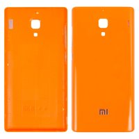 Battery Back Cover for Xiaomi Red Rice 1S Cell Phone, (orange)