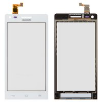 Touchscreen for Huawei Ascend G6-U10 Cell Phone, (white)