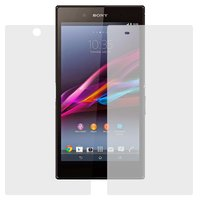 Tempered Glass Screen Protector for Sony C6802 XL39h Xperia Z Ultra, C6806 Xperia Z Ultra, C6833 Xperia Z Ultra Cell Phones, (0,26 mm 9H, (without package, without wipes), front and back)