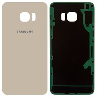 Housing Back Cover for Samsung G928 Galaxy S6 EDGE+ Cell Phone, (golden, high copy)