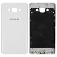 Housing Back Cover for Samsung A700F Galaxy A7 Cell Phone, (white, without component)