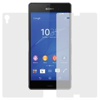 Tempered Glass Screen Protector for Sony D6603 Xperia Z3, D6633 Xperia Z3 DS, D6643 Xperia Z3, D6653 Xperia Z3 Cell Phones, (0,26 mm 9H, front and back, (without package, without wipes))