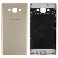 Housing Back Cover for Samsung A700F Galaxy A7 Cell Phone, (golden, without component)