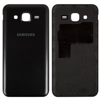 Battery Back Cover for Samsung J500H/DS Galaxy J5 Cell Phone, (black)