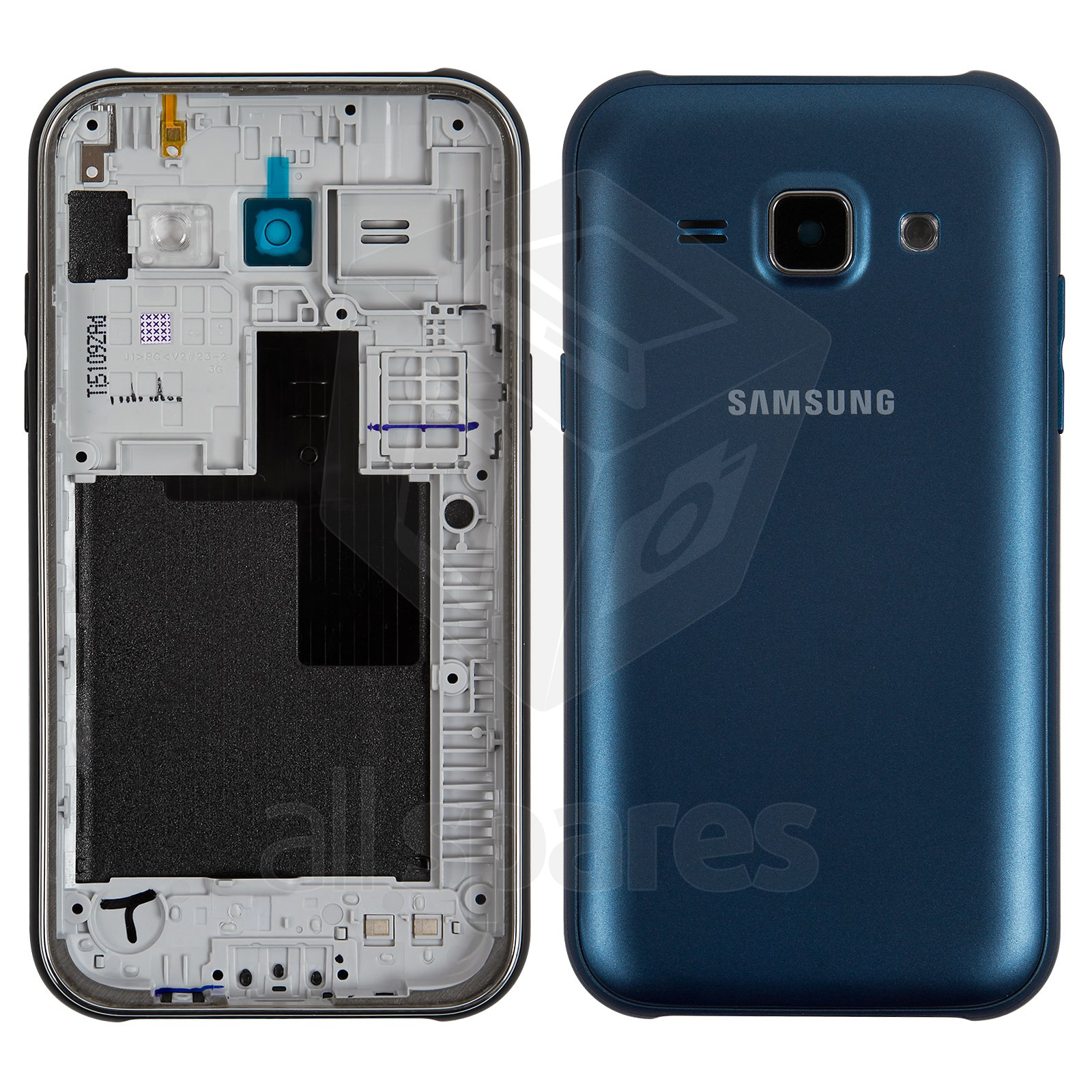 Housing For Samsung J100h Ds Galaxy J1 Cell Phone Dark Blue All J100 4 Gb Spares