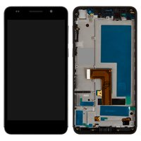 LCD for Huawei Honor 6 H60-L02 Cell Phone, (black, with touchscreen, with front panel)