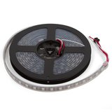 RGB LED Strip SMD5050, WS2812B (with controls, IP67, 5 V, 60 LEDs/m, 5 m)