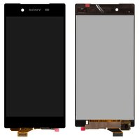 LCD for Sony E6603 Xperia Z5, E6653 Xperia Z5, E6683 Xperia Z5 Dual Cell Phones, (black, original (PRC), with touchscreen)