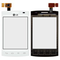 Touchscreen for LG E410  Optimus L1x II Cell Phone, (white)