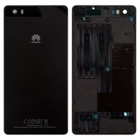 Housing Back Cover for Huawei P8 Lite (ALE L21) Cell Phone, (black)