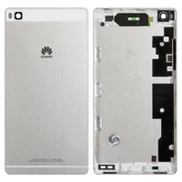 Housing Back Cover for Huawei P8 (GRA L09) Cell Phone, (white)
