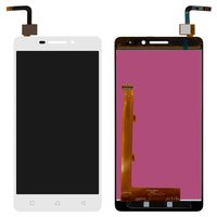 LCD for Lenovo Vibe P1m Cell Phone, (white, with touchscreen)