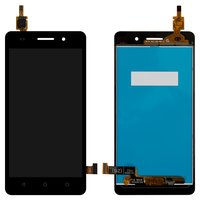 LCD for Huawei Honor 4C Cell Phone, (black, with touchscreen)