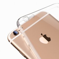 Silicone Case for Apple iPhone 6, iPhone 6S Cell Phones, (transparent)