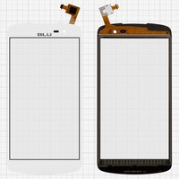 Touchscreen for BLU D750U Studio X Cell Phone, (white)