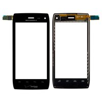 Touchscreen for Motorola XT894 Droid 4 Cell Phone, (black)