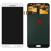 LCD for Samsung J700F/DS Galaxy J7, J700H/DS Galaxy J7, J700M/DS Galaxy J7 Cell Phones, (white, with touchscreen)