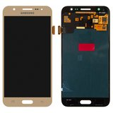 LCD for Samsung J500F/DS Galaxy J5, J500H/DS Galaxy J5, J500M/DS Galaxy J5 Cell Phones, (golden, with touchscreen, Original (PRC), original glass)
