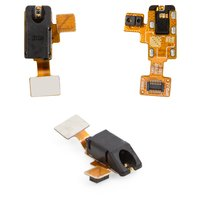 Flat Cable for LG E960 Nexus 4 Cell Phone, (headphone connector, with proximity sensor, with components)