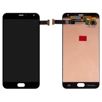 LCD for Meizu Pro 5 Cell Phone, (black, with touchscreen)
