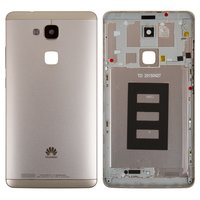 Housing Back Cover for Huawei Ascend Mate 7 Cell Phone, (golden, with side button, without SIM card tray)