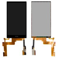 LCD for HTC One M8s Cell Phone, (black, with touchscreen)