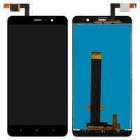 LCD for Xiaomi Redmi Note 3 Cell Phone, (black, original (PRC), with touchscreen)