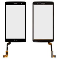 Touchscreen for LG X155 Max, X160 Max, X165 Max Cell Phones, (black)